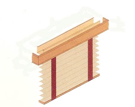 Stores venitiens v nitiens aluminium bois venitiens cuir for Cantonniere pour fenetre